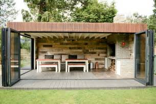 Indoor Outdoor Entertaining Areas - all weather braai bbq contemporary patio south east