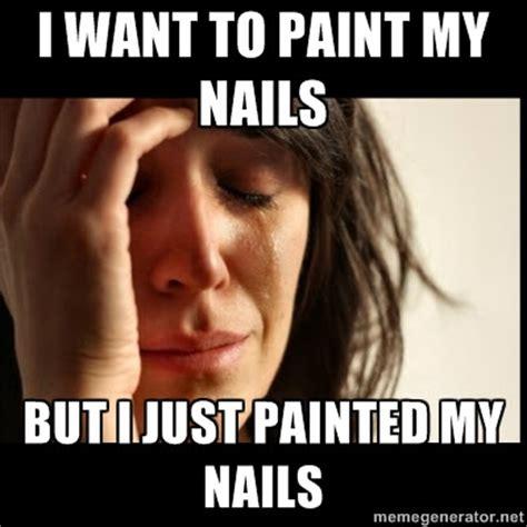 Nails Meme - nailslikelace polish memes