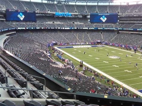 section 203a the game comes to you metlife stadium section 232a review
