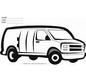 Coloriage Camionnette &224 Imprimer Pour Les Enfants  CP05489