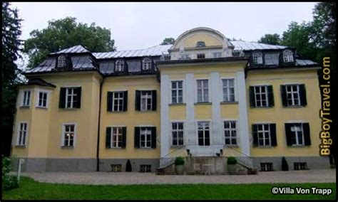 von trapp house sound of music salzburg sound of music movie film locations tour map von trapp villa mansion real