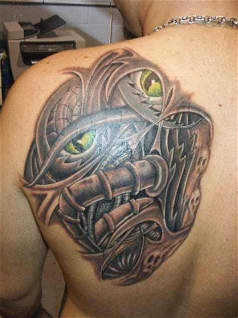 biomechanical shoulder tattoo designs biomechanical images designs