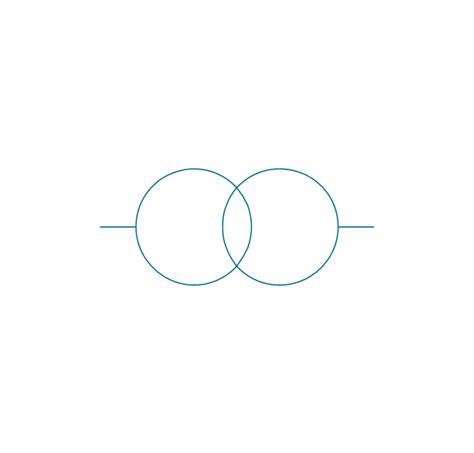 circuit diagram symbol transformer efcaviation