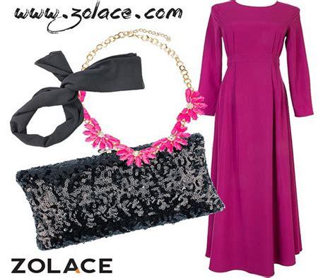 Hana Dress Muslimah Fashion Murah sytieh zolace tempat shopping yang terbaik