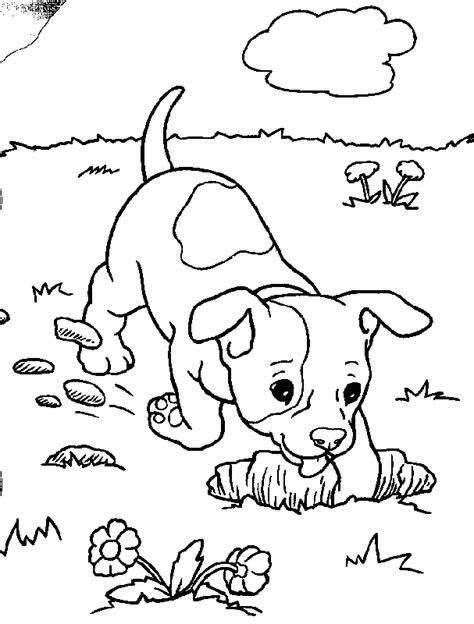 dog coloring pages games puppies coloring page coloring home