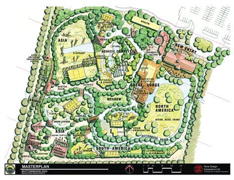 Home Garden Design Programs by Master Plan Buttonwood Park Zoo