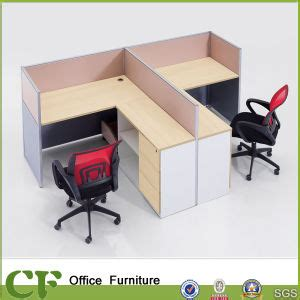 China T Shaped 2 Person Office Modern Computer Desk T Shaped Office Desk Furniture