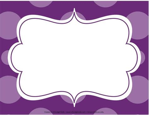 sign templates midnight orchid paisley editable sign template