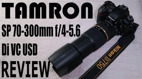 tamron sp   mm    vc usd lens review