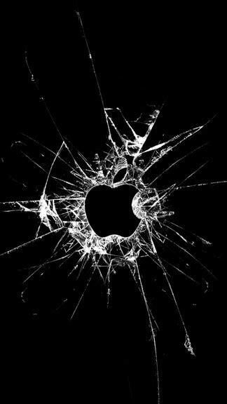 wallpaper for iphone 5 se broken glass apple iphone 5 se wallpaper