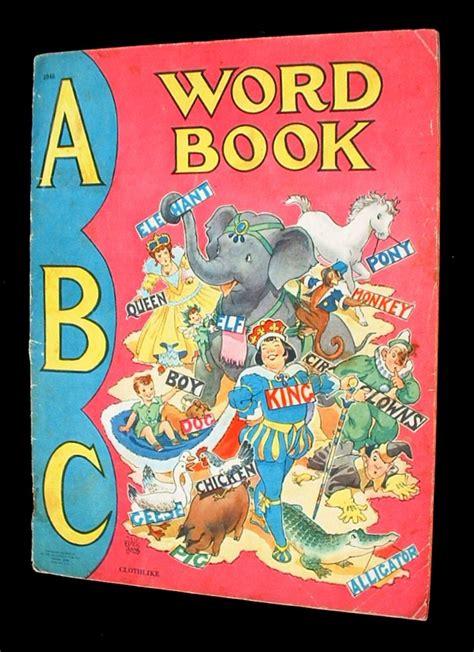 abc picture book abc word book a abc book children s books