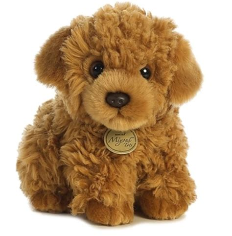 mini goldendoodles ebay 9 quot brown poodle puppy plush stuffed animal new
