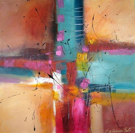 acrylic painting modern celebration original abstract acrylic modern