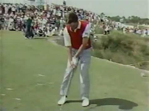 paul swing paul azinger golf swing youtube