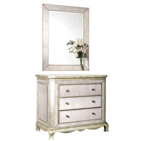 Glass Chester Drawers by Glass 3 Drawer Shaped Chest Mirrored Chest Of Drawers