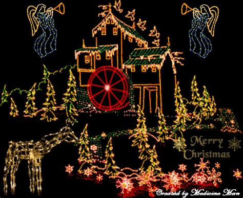 christmas house wallpaper christmas house lights wallpaper