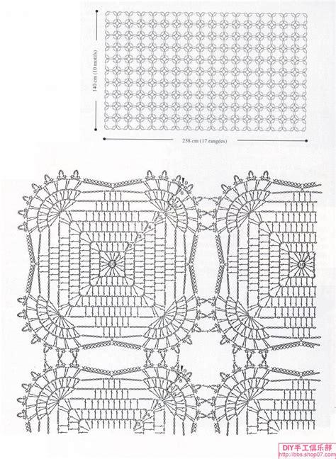 schemi piastrelle uncinetto copriletto piastrelle quadrate piccole 2 magiedifilo