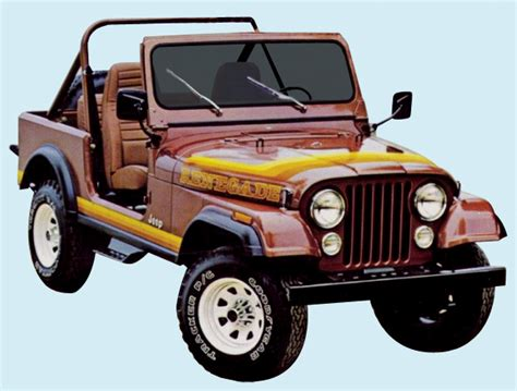 Jeep Renegade Decals Graphix 1981 82 Jeep Renegade Decal Kit
