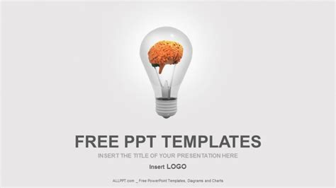 powerpoint templates free brain free education powerpoint templates design