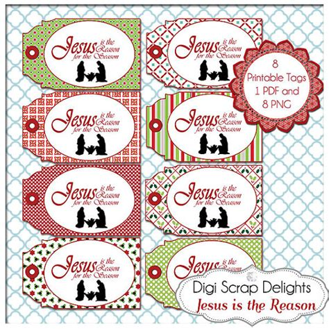printable christmas tags christian jesus is the reason printable christmas labels tags diy you