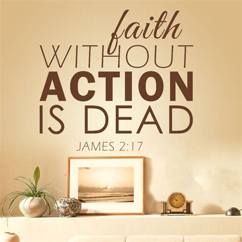welcome to faith in action we sell christian bracelets james 2 14 17 faith is action not talk tell the lord