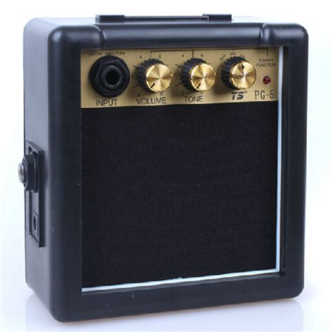 Speaker Mini Gitar 5w mini electric guitar lifier distortion guitar