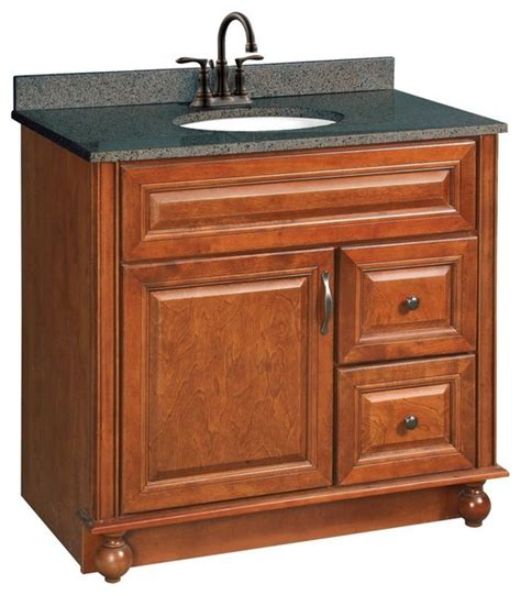 30 Vanity Cabinet And Sink 30 In Vanity Cabinet In Chestnut Glaze Finish