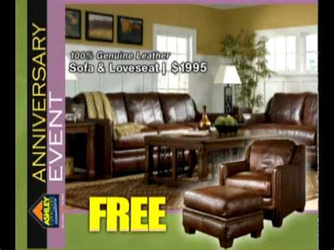 home furniture anniversary event ad