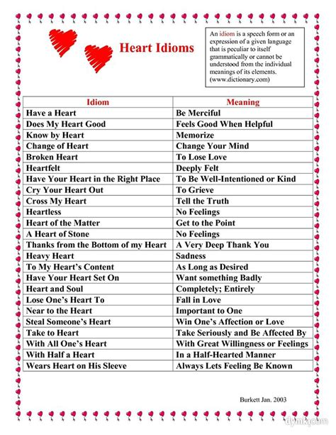 biography meaning in english pin heart to idioms on pinterest