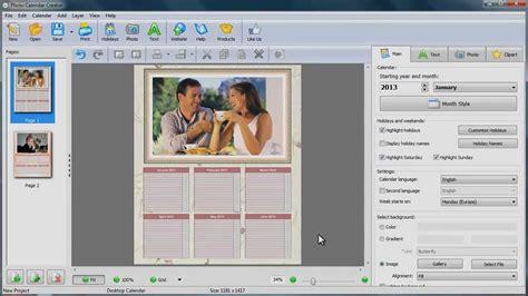make calendar with your photos how to make a desk calendar with your photos