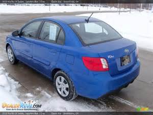 Sapphire blue 2010 kia rio lx sedan photo 4 dealerrevs com