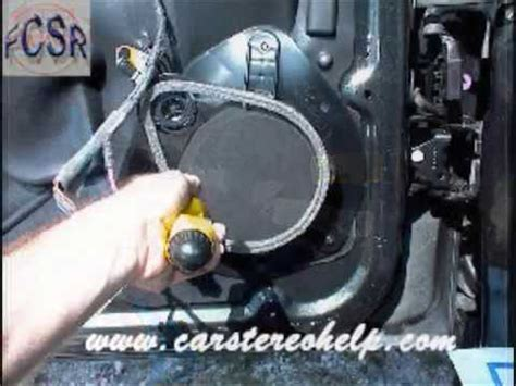 gmc envoy 2002 2009 factory speaker replacement connector harness on gmc envoy front speaker removal youtube