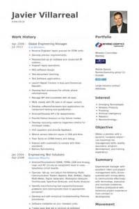 Engineering Management Sle Resume by Engineering Manager Resume Sles Visualcv Resume Sles Database