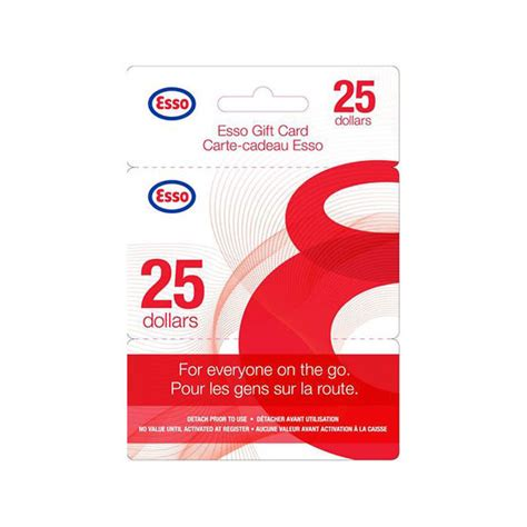Esso Gift Card - esso gift card 25 london drugs