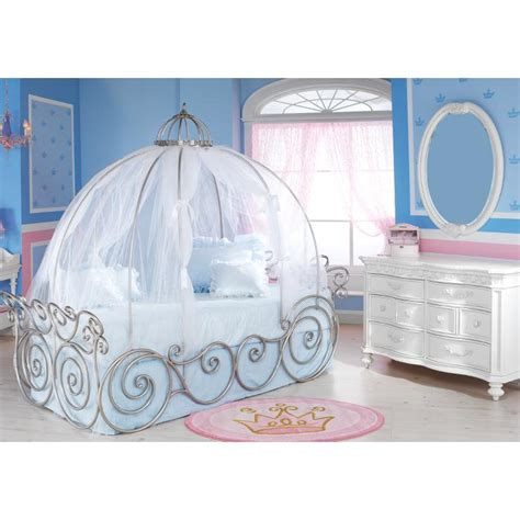 Cinderella Carriage Bed when you wish upon a cinderella
