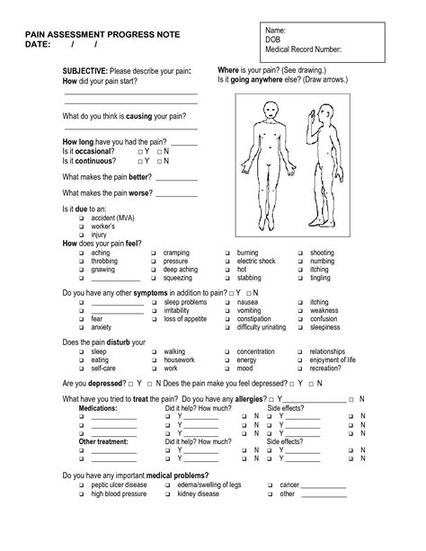 Soap Note Template Tryprodermagenix Org Physical Therapy Progress Note Template