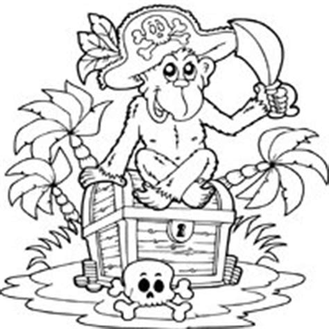 monkey pirate coloring pages pirate 187 coloring pages 187 surfnetkids
