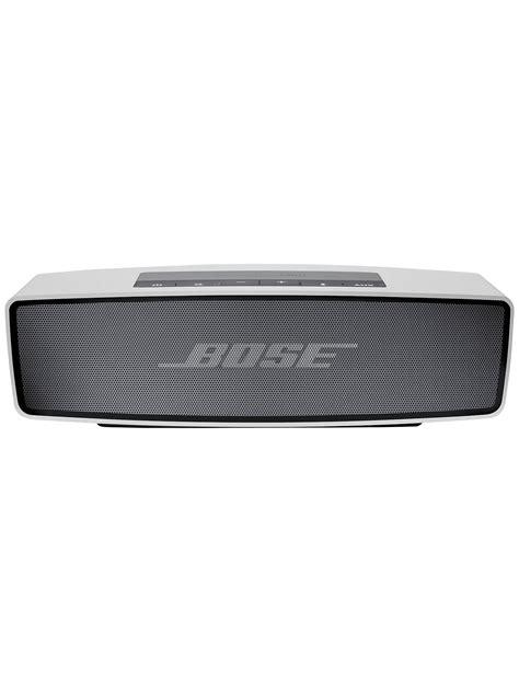 bose soundlink mobile speaker bose 174 soundlink 174 mini wireless mobile speaker silver at