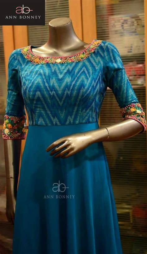 kurtis neck designs   stylish  simple craft ideas