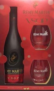 remy martin vsop cognac gift set w shot glasses bottle