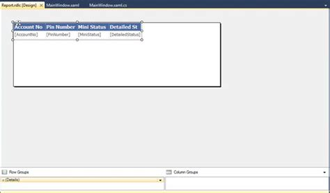 Reportviewer Wpf | report viewer in wpf