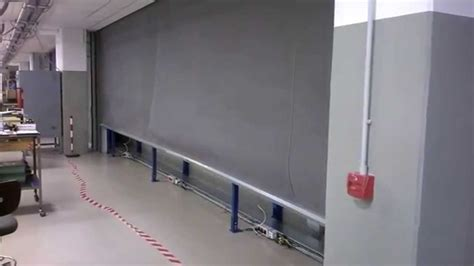 fire curtain fire curtain industrial application youtube