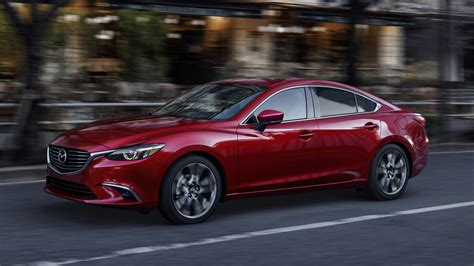 mazda m6 2017 mazda3 and mazda6 gain several major updates