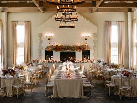 indoor fall wedding reception early mountain vineyard