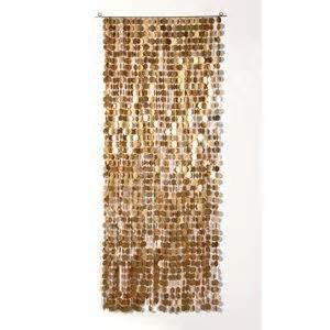 sequin curtain gold large sequin curtain interiors pinterest