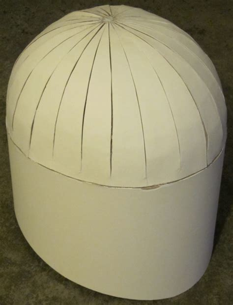 How To Make A Dome Shape Out Of Paper - jodo kast scratchbuild finished boba fett costume and
