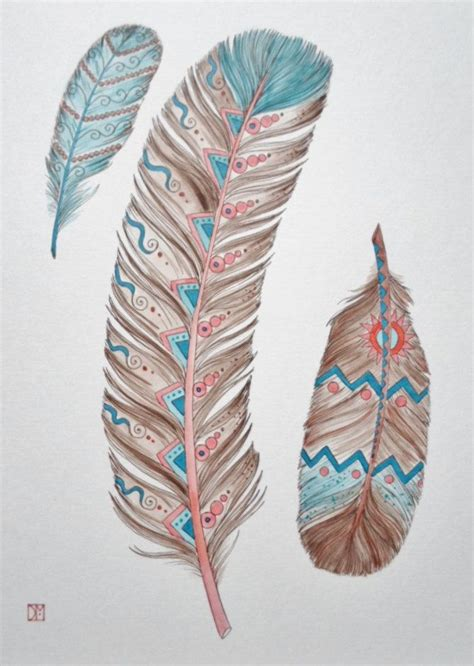 southwest tattoo designs 25 best ideas about feather tattoos on