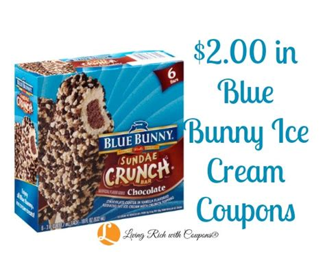 Blue Bunny Coupons Printable 2014 coupon print 2 00 in blue bunny