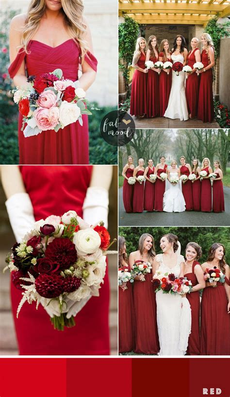 bridesmaids dresses by colour and theme that could work for different wedding motifs 1 fab