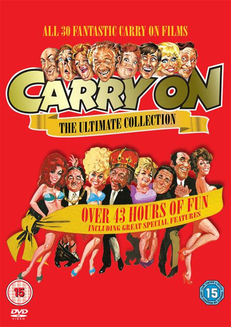 Box Set Laugh Dan Scary carry on the complete collection dvd zavvi